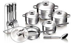 Blaumann Sada nádobí 17 ks Gourmet Line