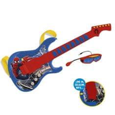 MARVEL dětská elektrická kytara Spiderman