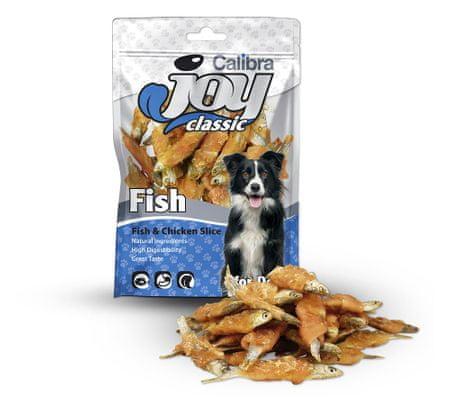 Calibra prigrizek za pse, riba v piščancu, 80 g