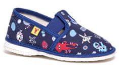 RAK Chlapčenské obrázkové papučky 943022 M3 modré