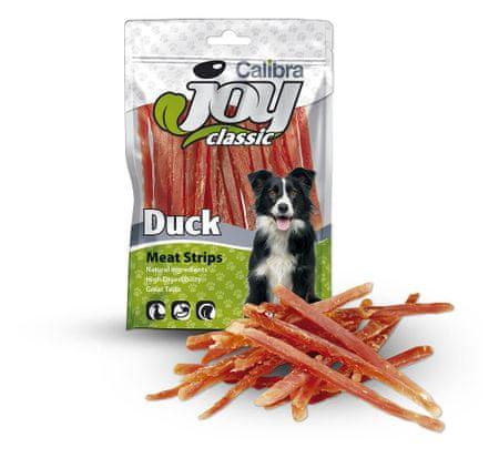 Calibra prigrizek za občutljive pse, račji trakci, 80 g