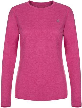 Loap ženska termo majica Pegina, M, roza