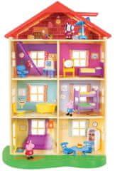 TM Toys Peppa Pig - Rodinný dům se světlem a zvukem
