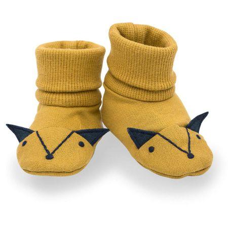 Pinokio gyerek kocsicipő/zokni Secret Forest 68/74 sárga