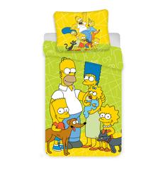 Jerry Fabrics Simpsons ágynemű huzat 02 zöld