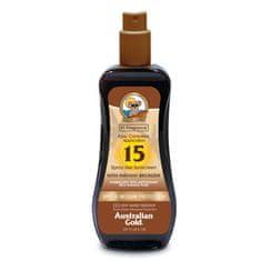 Australian Gold SPF 15 Spray Gel s bronzerem 237 ml