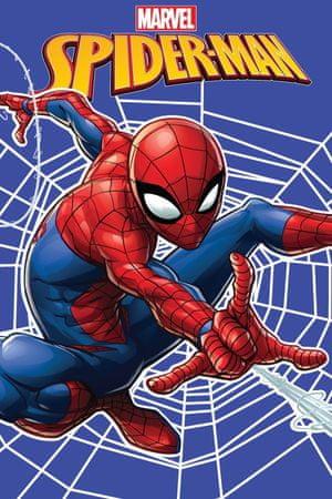 Jerry Fabrics Fleece takaró Spider-man pókháló