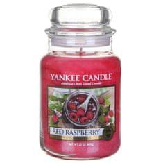 Yankee Candle Svíčka ve skleněné dóze , Červená malina, 623 g