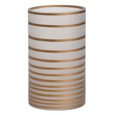 Yankee Candle Svícen skleněný , Copper Elegance, výška 20 cm