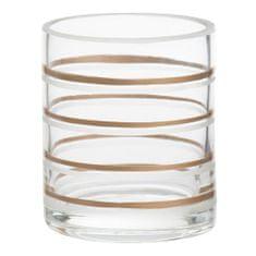 Yankee Candle Świecznik szklany , Miedź Elegance 3, średnica 7 cm