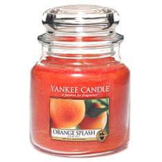 Yankee Candle Sveča v steklenem kozarcu , Pomarančni sok, 410 g