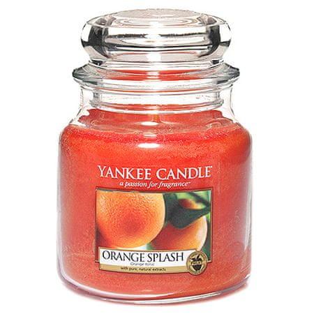 Yankee Candle Świeca w szklanym słoju Świeca Yankee, Sok pomarańczowy, 410 g