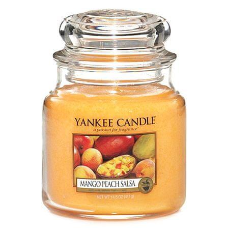 Yankee Candle Sveča v steklenem kozarcu , Mango in breskev salsa, 410 g