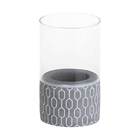 Yankee Candle Yankee gyertya üveg gyertyatartó, Törzsi kő 3, magassága 15 cm