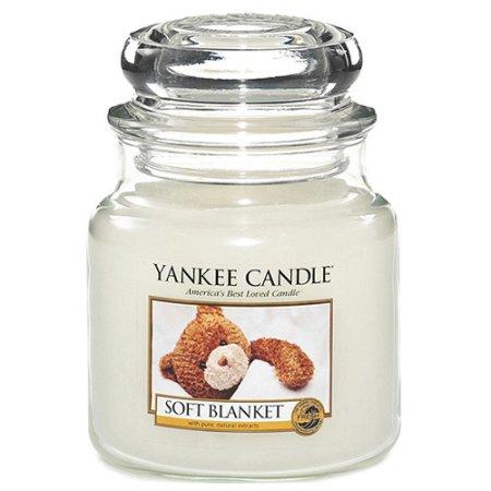 Yankee Candle Sveča v steklenem kozarcu , Mehka odeja, 410 g