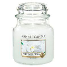 Yankee Candle Sveča v steklenem kozarcu , Bela gardenija, 410 g