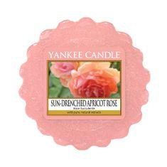 Yankee Candle Vonný vosk , Vyblednutá marhuľová ruža, 22 g