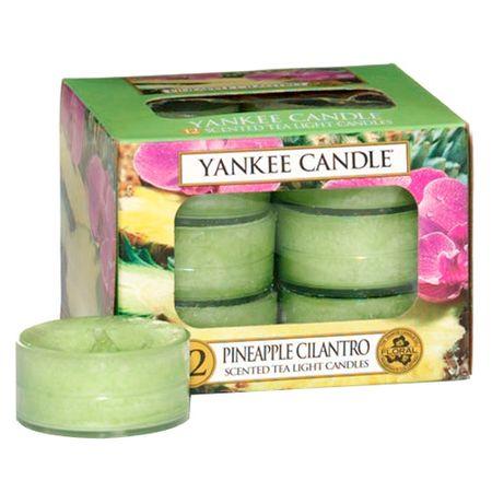Yankee Candle Yankee gyertya tea gyertyák, Ananász korianderrel, 12 db