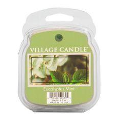 Village Candle Dišeča voska vaška sveča, Evkalipt in meta, 62 g