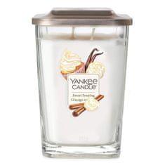 Yankee Candle Svíčka ve skleněné váze , Sladká poleva, 552 g