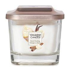 Yankee Candle Svíčka ve skleněné váze , Sladká poleva, 96 g