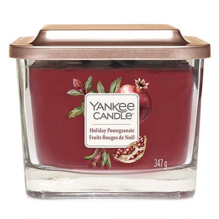Yankee Candle Gyertya egy üvegváza Yankee gyertya, Ünnepi gránátalma, 347 g