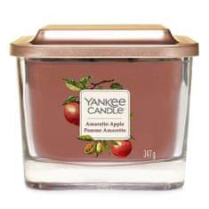Yankee Candle Świeca w szklanym wazonie Świeca Yankee, Amaretto z jabłkiem, 347 g