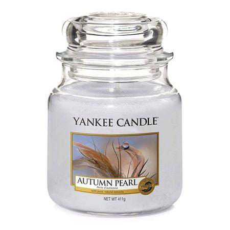 Yankee Candle Świeca w szklanym słoju Świeca Yankee, Jesienna perła, 410 g
