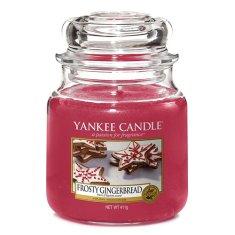 Yankee Candle Gyertya egy üvegedénybe a Yankee gyertyát, Mézeskalács jegesedéssel, 410 g