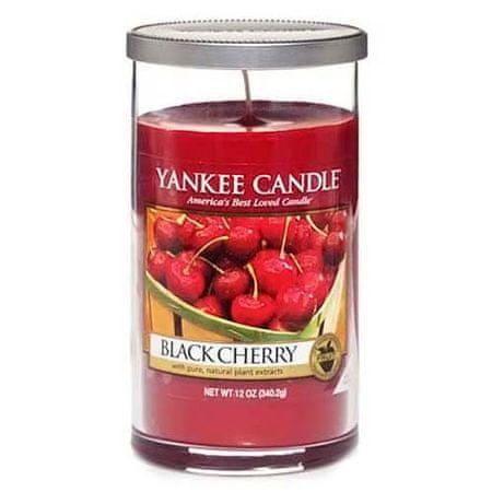 Yankee Candle Świeca w szklanym cylindrze , Dojrzałe wiśnie, 340 g