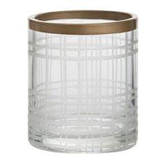 Yankee Candle Świecznik szklany , Miedź Elegance 1, średnica 7 cm