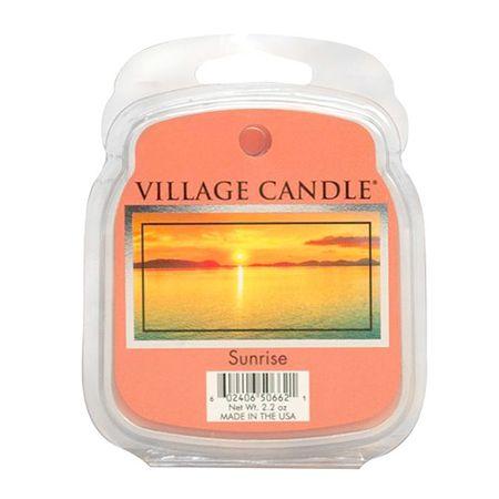 Village Candle Illatos viaszfalu gyertya, Napkelte, 62 g