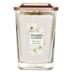 Yankee Candle Svíčka ve skleněné váze , Čisté prádlo, 552 g