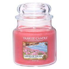 Yankee Candle Gyertya egy üvegedénybe a Yankee gyertyát, Kert a tenger mellett, 410 g