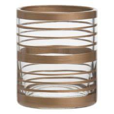 Yankee Candle Świecznik szklany , Miedź Elegance 2, średnica 7 cm