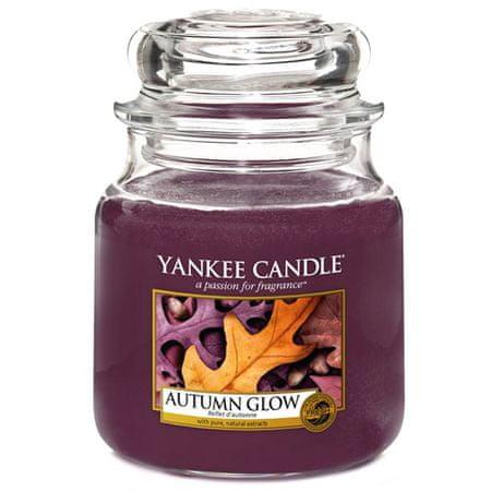 Yankee Candle Świeca w szklanym słoju Świeca Yankee, Jesienny blask, 410 g