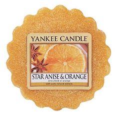 Yankee Candle Vonný vosk , Anýz a pomeranč, 22 g