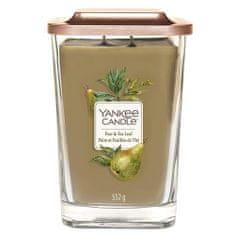 Yankee Candle Svíčka ve skleněné váze , Hruška a čajové lístky, 552 g
