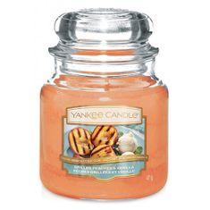Yankee Candle Gyertya egy üvegedénybe a Yankee gyertyát, Grillezett őszibarack és vanília, 410 g