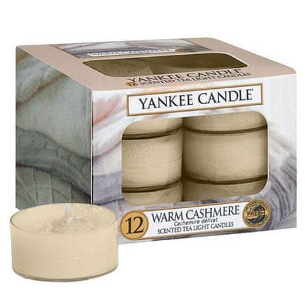 Yankee Candle Yankee gyertya tea gyertyák, Meleg kasmír, 12 db