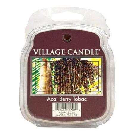 Village Candle Świeca zapachowa woskowa wieś, Tytoń i owoce akai, 62 g