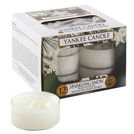 Yankee Candle Čajne sveče , Peneči sneg, 12 kosov