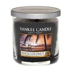 Yankee Candle Świeca w szklanym cylindrze , Czarny kokos, 198 g