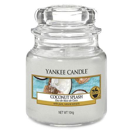 Yankee Candle Gyertya egy üvegedénybe a Yankee gyertyát, Kókusz frissítő, 104 g