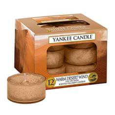 Yankee Candle Sviečky čajové , Teplý púštny vietor, 12 ks