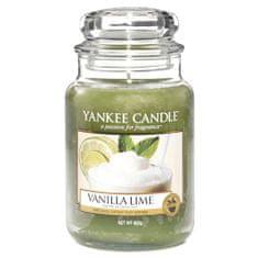 Yankee Candle gyertya üvegedénybe, Vanília mészgel, 623 g
