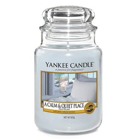 Yankee Candle Świeca w szklanym słoju Świeca Yankee, Ciche i spokojne miejsce, 623 g