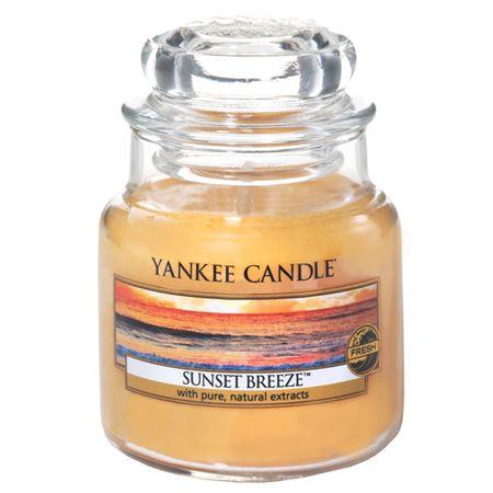 Yankee Candle Sveča v steklenem kozarcu , Burja ob sončnem zahodu, 104 g