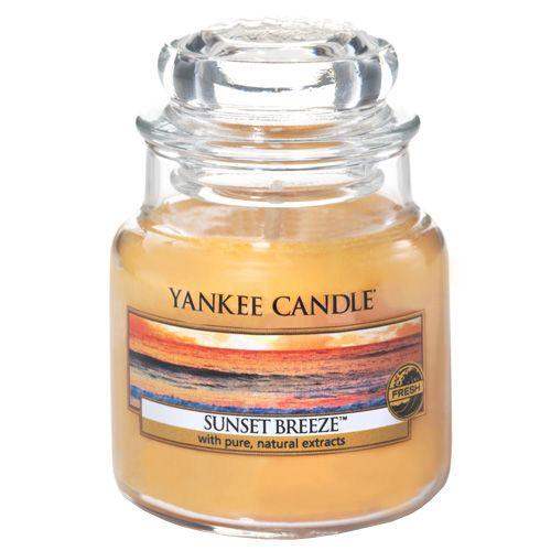 Yankee Candle Sviečka v sklenenej dóze , Vánok pri západe slnka, 104 g