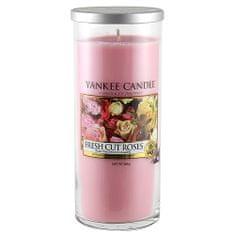 Yankee Candle Egy gyertya egy Yankee gyertya üveghengerben, Frissen vágott rózsa, 566 g